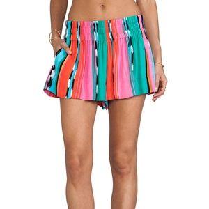 Ella Moss Flared Multi Color Shorts - Revolve
